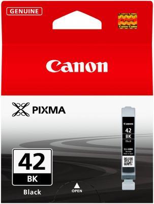 Струйный картридж Canon CLI-42BK черный для PRO-100 картридж canon cli 42lgy для pro 100 серый 835 фотографий