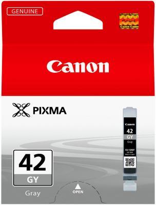 Струйный картридж Canon CLI-42GY серый для PRO-100 картридж canon cli 42lgy для pro 100 серый 835 фотографий