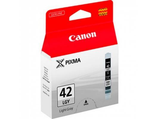 Картридж Canon CLI-42LGY для PRO-100 серый 835стр картридж canon cli 42lgy для pro 100 серый 835 фотографий