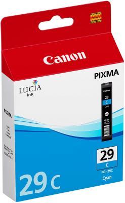 Струйный картридж Canon PGI-29C голубой для PRO-1 230стр. цены