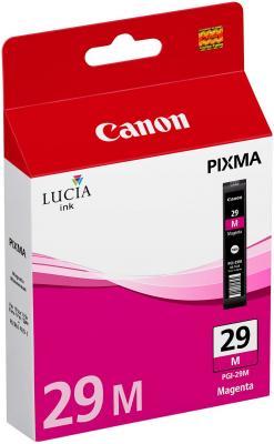 Струйный картридж Canon PGI-29M пурпурный для PRO-1 281стр. чернильный картридж canon pgi 29pm