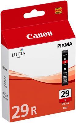 Струйный картридж Canon PGI-29R красный для PRO-1 454стр. чернильный картридж canon pgi 29r