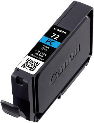 Струйный картридж Canon PGI-72PC голубой для PRO-10 351 фотография
