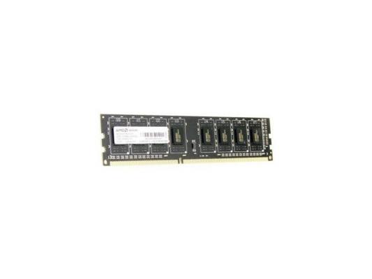 Оперативная память 4Gb (1x4Gb) PC3-12800 1600MHz DDR3 DIMM CL11 AMD AE34G1601U1-UO оперативная память 8gb pc3 12800 1600mhz ddr3 dimm amd r538g1601u2s uo