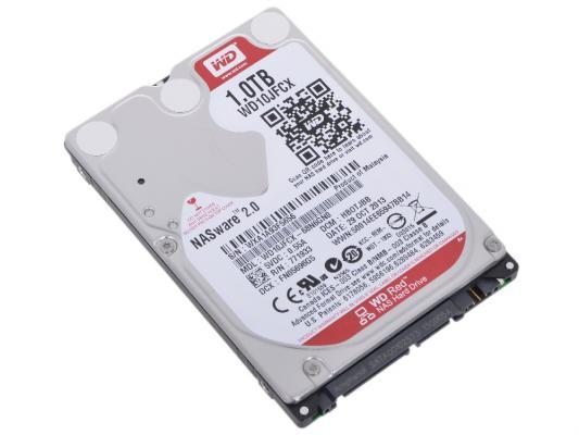 2.5 Жесткий диск 1Tb Western Digital Red (WD10JFCX) SATA III <5400rpm, 16Mb> жесткий диск пк western digital 10tb sata iii wd101kfbx red pro 7200rpm wd101kfbx