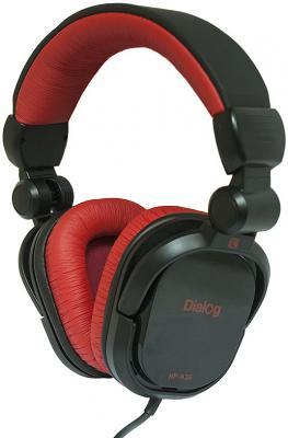 Наушники мониторные Dialog Aria HP-A35 Black-Red