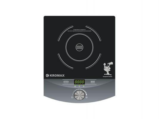 Индукционная электроплитка Kromax Endever IP-12 чёрный