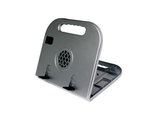 Теплоотводящая подставка для ноутбука до 17 Kromax Satellite-60 теплоотводящая подставка для ноутбуков kromax satellite 60 ноутбука планшетника наклон размер 52х26 см max 9 кг
