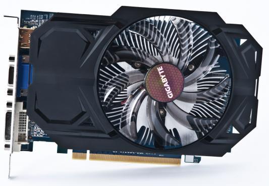 купить Видеокарта 2Gb <PCI-E> GIGABYTE R7 240 <D-Sub, DVI, HDMI, Retail> (GV-R724OC-2GI) недорого