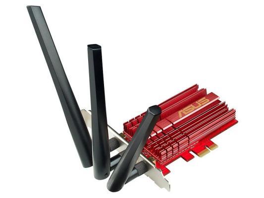 Адаптер PCI-E беспроводной Asus PCE-AC68 pci e to