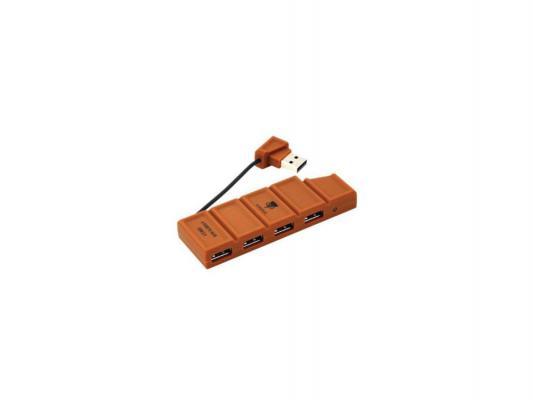 USB ������������ Konoos UK-35 4�USB Brown