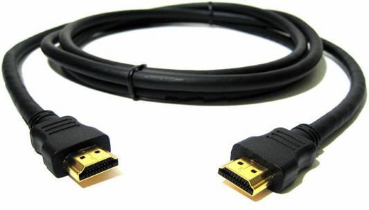 Кабель HDMI 1.0м Gembird v1.4 черный позол.разъемы экран CC-HDMI4-1M