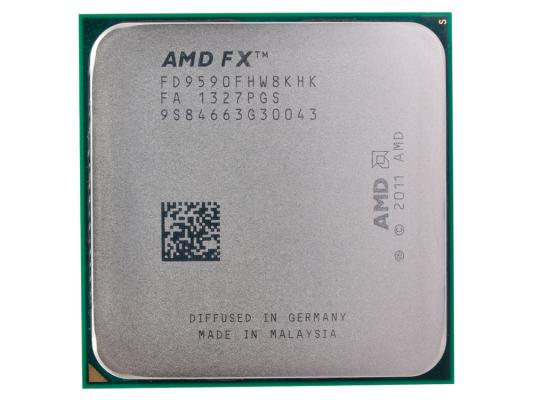 Процессор AMD FX-9590 OEM <Socket AM3+> (FD9590FHW8KHK) процессор amd fx 8370 vishera 4000mhz am3 l3 8192kb fd8370frw8khk tray