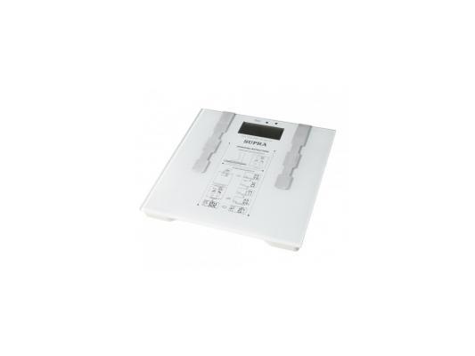 Весы напольные Supra BSS-6600 белый