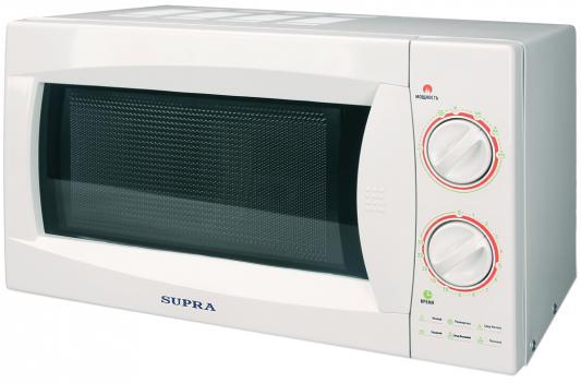 СВЧ Supra MWS-2117MW 21 л белый supra mws 1805 mw