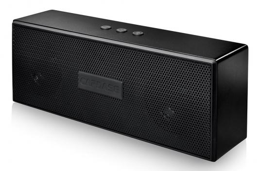 Портативная акустика CAPDASE PORTABLE BLUETOOTH SPEAKER BEATBAR BTS-2 Black (SK00-B301) s32 portable 3w bluetooth v2 0 speaker w mic mini usb tf brown black