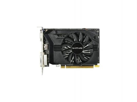 Видеокарта 2Gb <PCI-E> Sapphire R7 250 <DDR3/ DVI/ HDMI/ CRT/ HDCP/ Retail> (11215-01-20G) видеокарта 6144mb msi geforce gtx 1060 gaming x 6g pci e 192bit gddr5 dvi hdmi dp hdcp retail