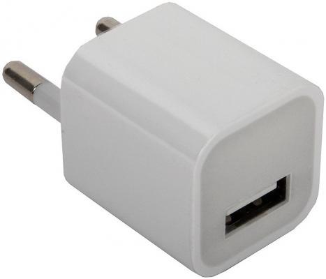 Сетевое зарядное устройство ORIENT PU-2301 USB 1A белый