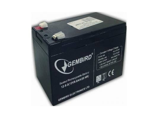 Аккумулятор Gembird 12V9AH BAT-12V9AH аккумуляторная батарея восток ск 1209 12v9ah