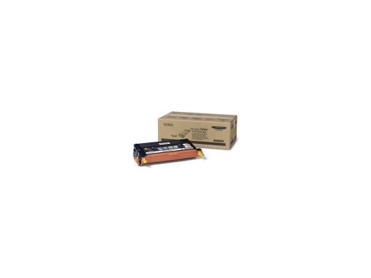 Картридж Xerox 113R00725 для Phaser 6180 желтый 6000стр картридж xerox 108r00909 для phaser 3140 2500стр