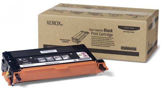 Картридж Xerox 113R00726 для Phaser 6180 черный 8000стр картридж для мфу xerox 113r00723 phaser 6180 blue