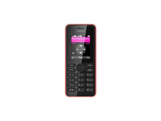 Мобильный телефон Nokia 108 DS красный