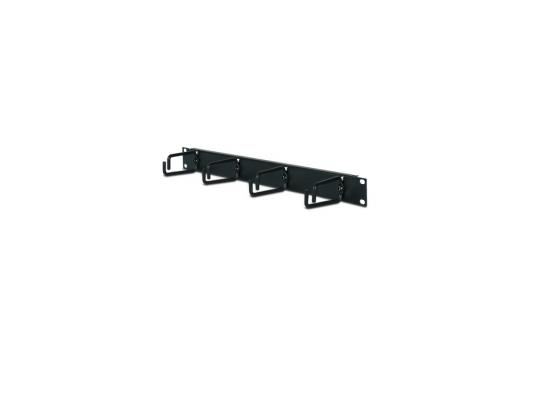 Кабельный органайзер APC 1U Horizontal Cable Organizer Black AR8425A арматура крепежная apc horizontal cable manager