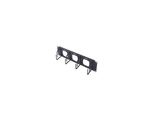 Кабельный органайзер APC 2U Horizontal Cable Organizer w/pass through holes AR8428
