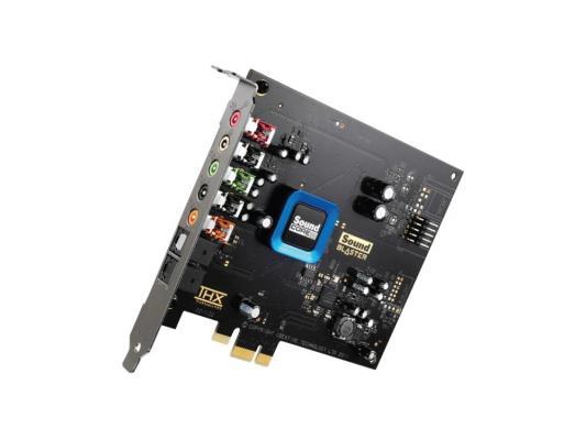 Звуковая карта PCI-E Creative SB Recon3D SB1350 oem huayuan мультиформатный виртуальных 7 1 канал аудио 3d звуковая карта адаптер с кабелем для pc голосовой чат музыка