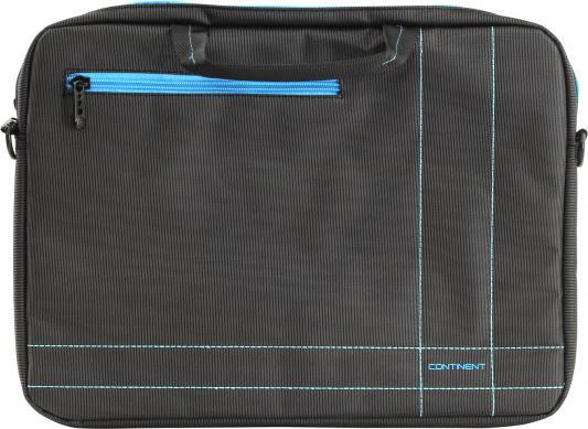 """Сумка для ноутбука 15.6"""" Continent CC-201GB gray-blue нейлон"""