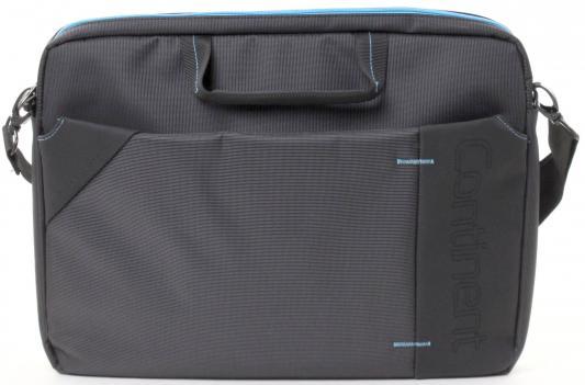 """Сумка для ноутбука 15.6"""" Continent CC-205GB gray-blue нейлон"""
