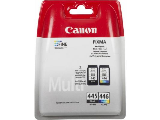 Картридж Canon PG-445/CL-446 для MG2440/2540 черный/цветной 2x180 страниц картридж для струйного принтера canon pg 445 emb