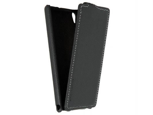 Чехол Huawei EDGE Leather Case Black для Ascend P6 черный