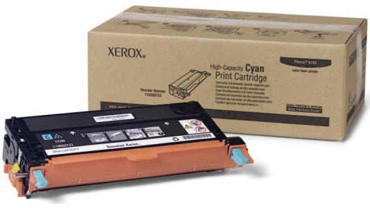 Картридж Xerox 113R00723 для Phaser 6180 голубой 6000 страниц картридж xerox 108r00909 для phaser 3140 2500стр