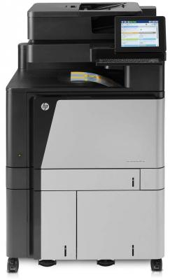 МФУ HP Color LaserJet Enterprise 800 MFP M880z A2W75A цветной A3 46ppm факс дуплекс HDD 320Гб Ethernet USB nv print cf303a magenta тонер картридж для hp laserjet enterprise flow mfp m880z m880z plus m880z plus nfc