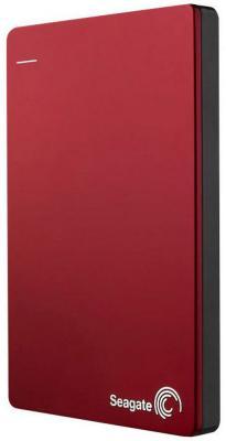 """Внешний жесткий диск 2.5"""" USB3.0 1 Tb Seagate Backup Plus STDR1000203 красный"""