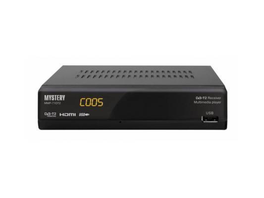 Тюнер цифровой DVB-T2 MYSTERY MMP-71DT2 черный тюнер цифровой dvb t2 cadena 1104t2n