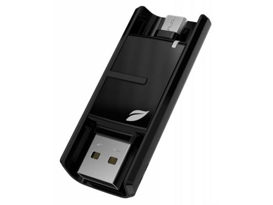 Фото - Флешка USB 64Gb Leef Bridge LFBRI-064GKR/LBRBB064MLA черный usb флешка leef ibridge 3 32gb черный