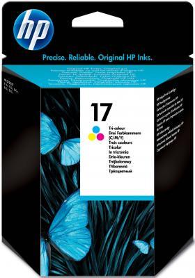 Картридж HP C6625A №17 для DeskJet 825c/840c/842c/843c/845с цветной картридж hp 17 многоцветный [c6625a]