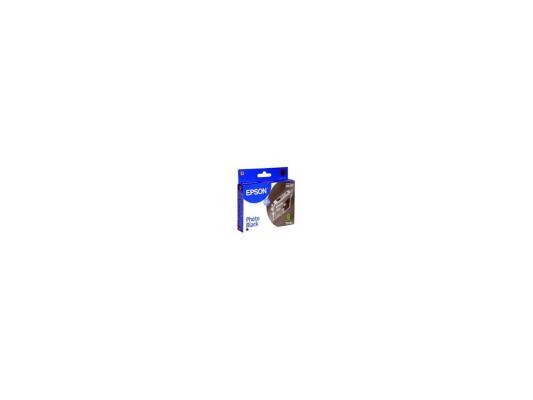 Картридж Original Epson [T034140] для Epson Stylus Photo 2100 Black картридж epson original t67354a светло голубой для l800
