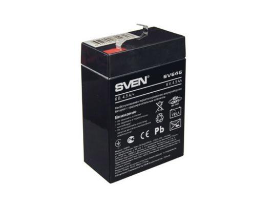 Батарея Sven SV6-4.5 (SV645) батарея sven sv1272 12v 7 2ah