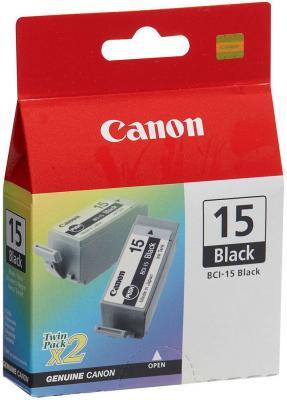 Картридж Canon BCI-15Bk черный для Canon BJ-i70 2pack картридж для принтера canon bci 3ey 4482a002 yellow