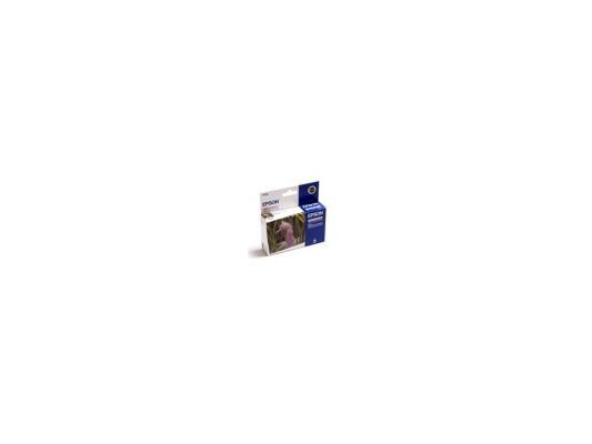 Картридж Epson T048640 для Stylus Photo R200 R300 RX500 RX600 Light Magenta Свтело-Пурпурный epson t0487 multipack c13t04874010 картридж для stylus photo r200 r300