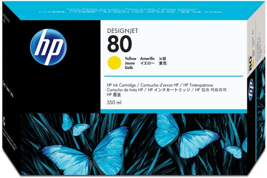 Картридж HP C4848A для DesignJet 1050c/1055cm желтый