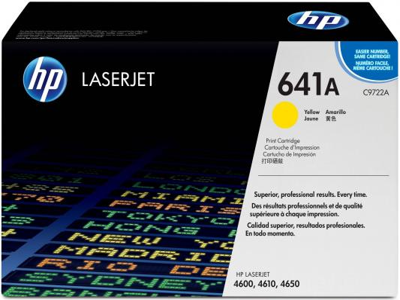 Картридж HP C9722A желтый для LJ 4600 hp hp 304a cc532a картридж лазерный тонер картридж желтый стандартная нет