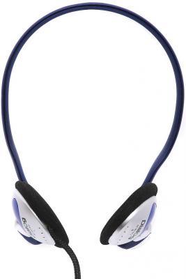 Наушники Dialog M-461HV серебристо-синий ecsem серебристый цвет