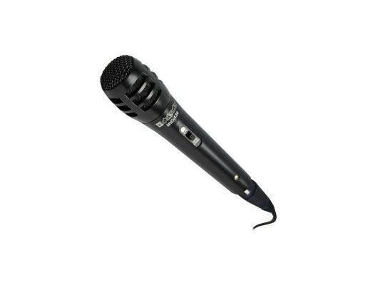 Микрофон DEFENDER MIC-130 динамический для караоке 5м 72дБ черный 64131