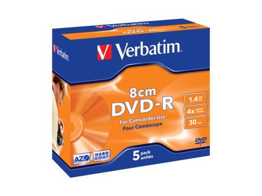 ����� DVD-R Verbatim Slim case 5�� Scratch proof 43510