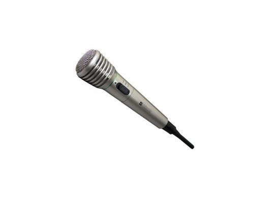 Микрофон Defender MIC-140 динамический для караоке металл беспроводной до 15м 64140 kfw wk u8700 беспроводной микрофон u band микрофон karaoke stage speech microphone school conference ktv one tail два микрофона