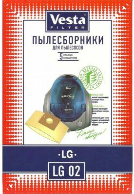 Комплект пылесборников Vesta LG 02 5шт комплект пылесборников vesta lg 03 5шт